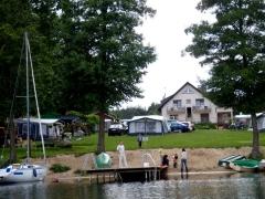 Camping nad Niesłyszem w Przełazach