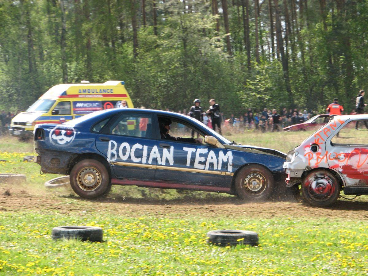 Wrak Race Boryszyn 2015