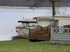 Camping nad jeziorem Niesłysz, Przełazy.