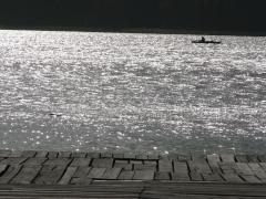 Przełazy nad jeziorem Niesłysz.