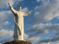 Największy w świecie pomnik Jezusa Króla Wszechświata w Świebodzinie